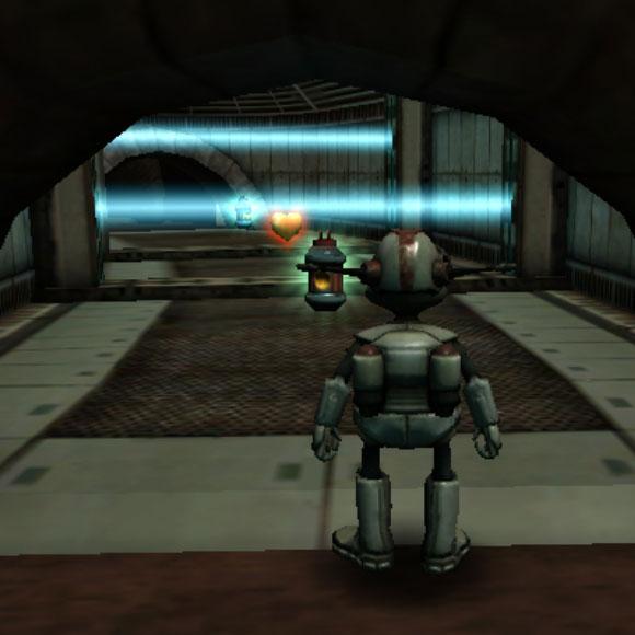 Лерпз сталкивается с двумя лазерными ловушками