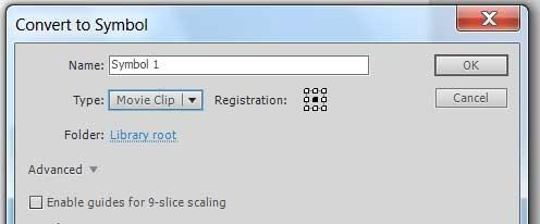 создаем документ ActionScript 3.0