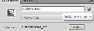 преобразуем изображение в символ для работы в ActionScript 3.0