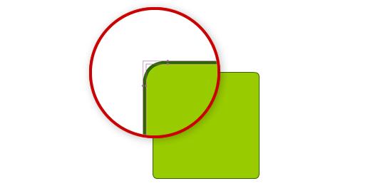 исправление размытых закругленных углов формы в AdobeFlash