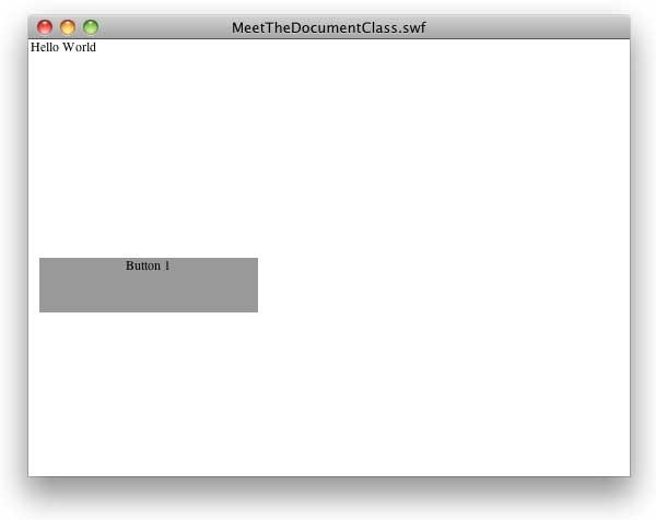 создание и вывод кнопки Button1 при помощи ActionScript
