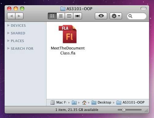 Создаем Flash-файл ActionScript 3.0