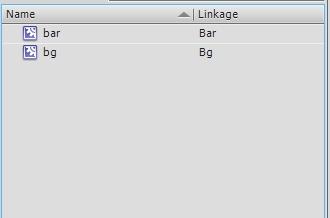 Символы в библиотеке Adobe Flash