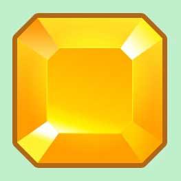 Векторный объект алмаз с основными настройками слоев в Photoshop