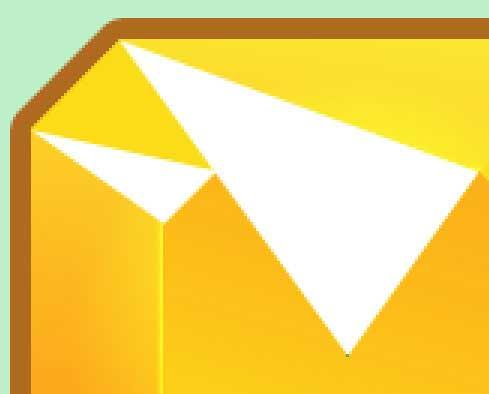 Векторные треугольники, нарисованные при помощи инструмента Pen Tool в Photoshop