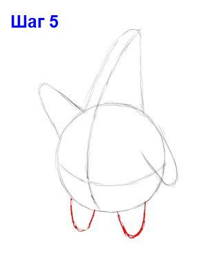 шаг 5: как нарисовать патрика стара из мультсериала губка боб квадратные штаны