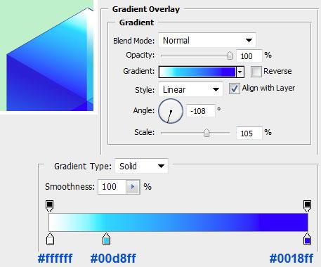 Настройка параметров слоя в Photoshop