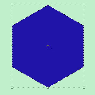 Вспомогательный пиксель для обозначения центра объекта в Photoshop