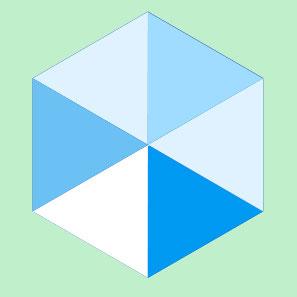Векторный треугольник в Photoshop