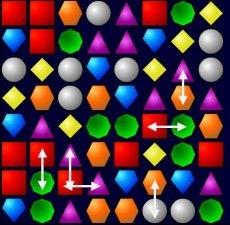 Создание игры три в ряд на языке ActionsScript 3
