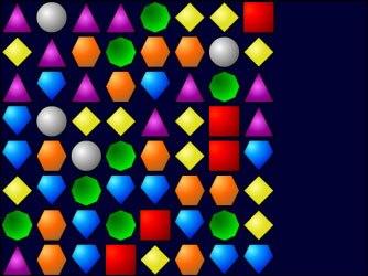 Теперь в начале игры Bejeweled не создаются линии-комбинации