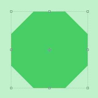 Рисование векторного объекта полигона в Photoshop
