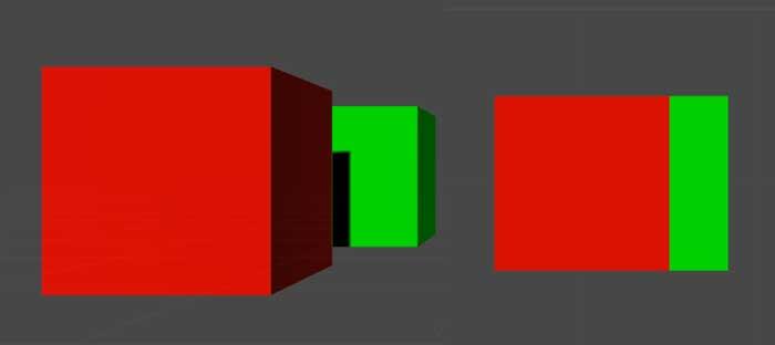 Перспективная и ортографическая проекции в Unity