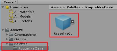 Структура игровых ассетов в проекте Unity