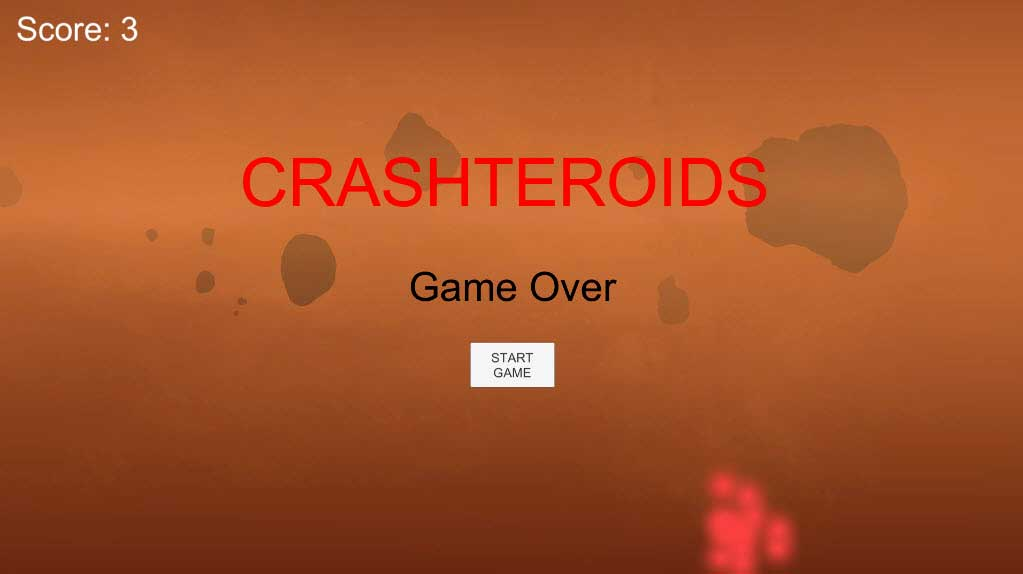 Экран завершения игры для юнит-тестирования в Unity